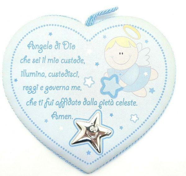 """Medaglione Capoculla Ranieri Argenti """"Angelo E Stella"""" Bambino 606 1C"""