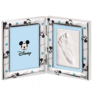 "Cornice ""Kit Per Impronte Portafoto Michey Mouse"" Disney Bambino 9x13 cm"