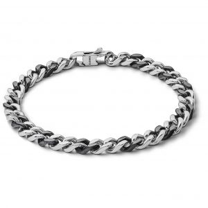 """Bracciale Comete Gioielli Uomo """"Chain"""" UBR 1022"""