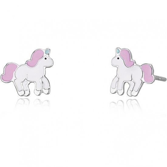 Orecchini Mabina Junior Con Unicorno Bambina 563342